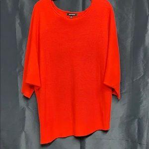 Beautiful red Ellen Tracy sweater. Size L